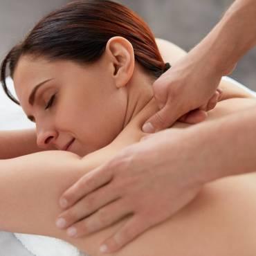 Massage des trapèzes